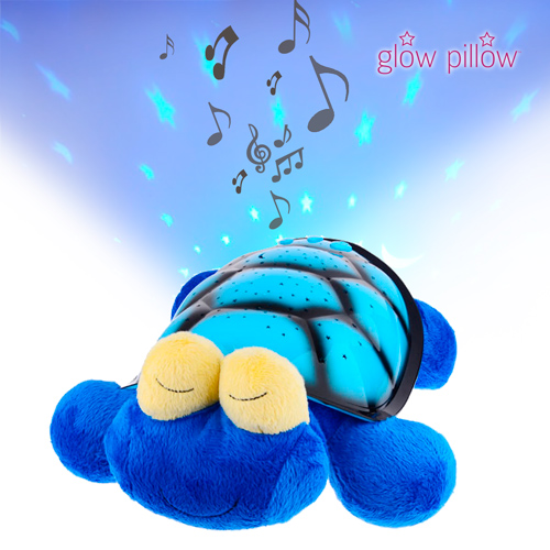 Peluche Proyector LED Glow Pillow Tortuga D3000175