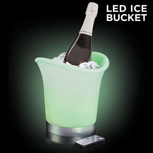 Multicolour LED<br>Ice Bucket