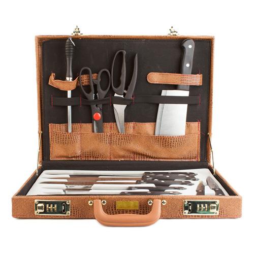 Maletin de Cuchillos de Cocina (13 piezas) B1005105