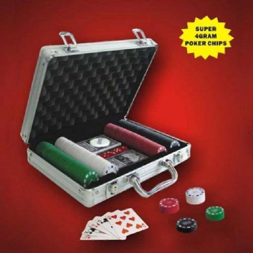 Maletin Poker 200 Fichas H4525107