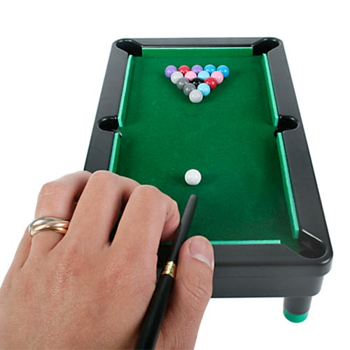 Juego de Mesa Mini Billar Tabletop Pool H4505115