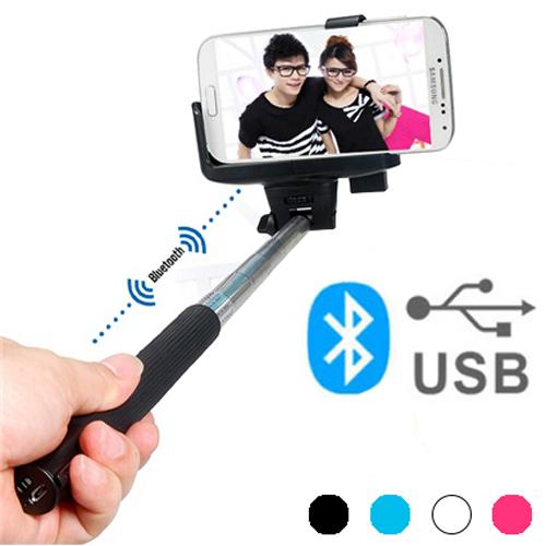 Bluetooth Selfie Palica - Črna