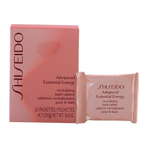 Shiseido - ADVANCED ESSENTIAL ENERGY revitalizing bath tablets 250 gr