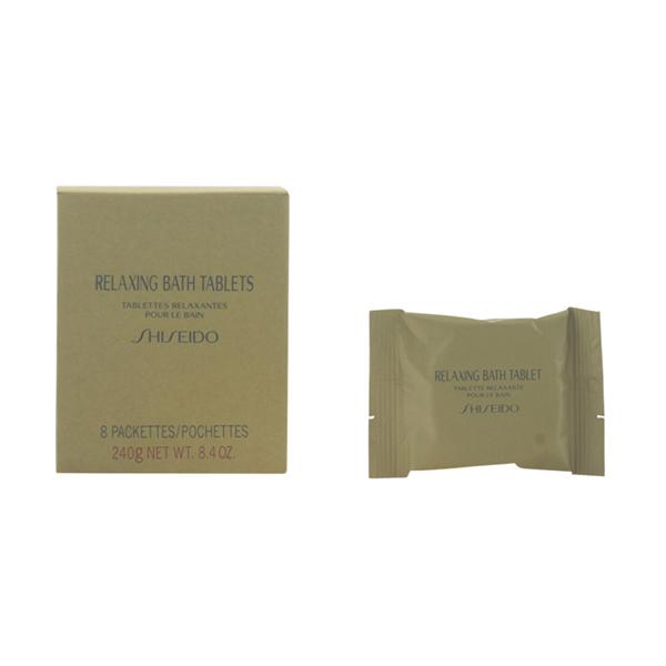 Shiseido - RELAXING bath tablets 8 X 30 gr