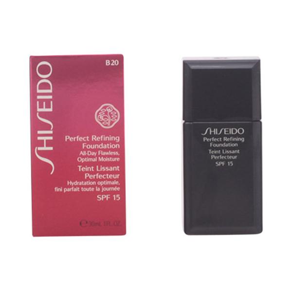 Shiseido - PERFECT REFINING foundation SPF15 B20 30 ml