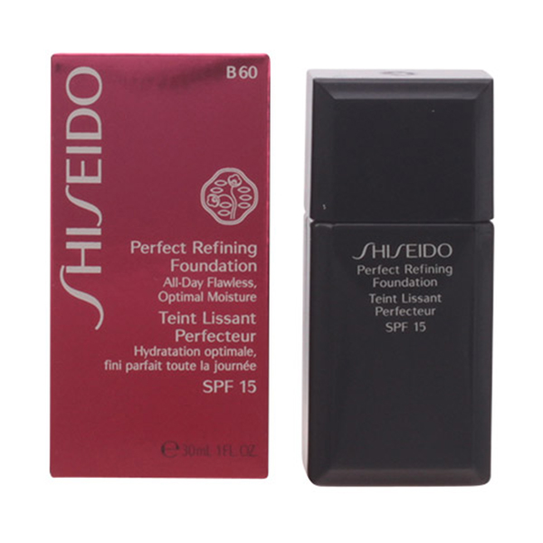 Shiseido - PERFECT REFINING foundation SPF15 B60 30 ml