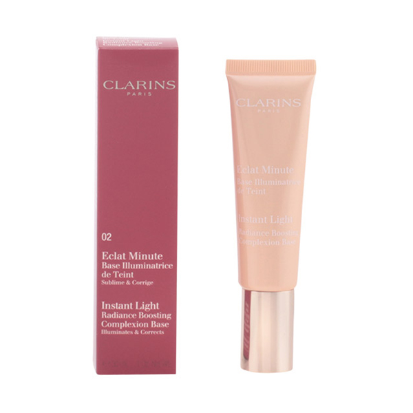 Clarins - ECLAT MINUTE base illuminatrice de teint 02-champagne 30 ml 3380814064212  02_p3_p1096041