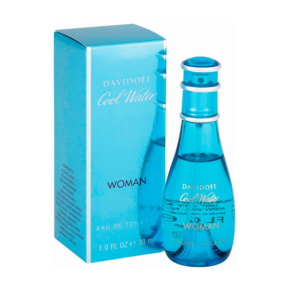 Davidoff - COOL WATER WOMAN edt vaporizador 30 ml