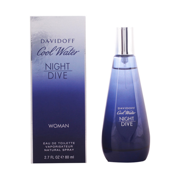 Davidoff - COOL WATER NIGHT DIVE WOMEN edt vaporizador 80 ml
