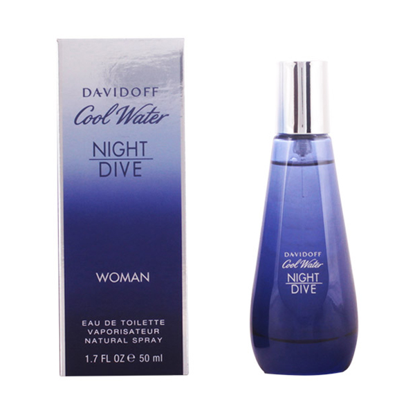 Davidoff - COOL WATER NIGHT DIVE WOMEN edt vaporizador 50 ml