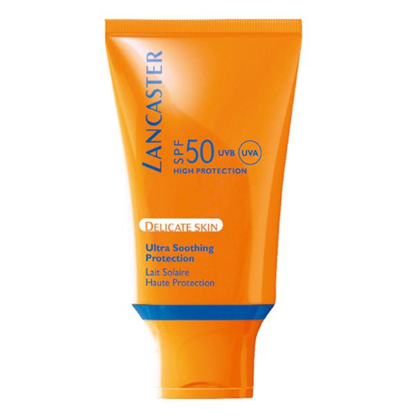 Lancaster - SUN DELICATE SKIN soothing milk SPF50 125 ml
