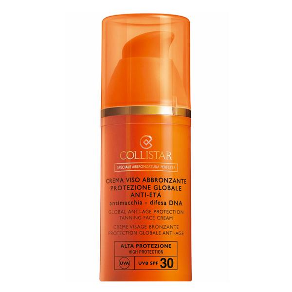 Collistar - PERFECT TANNING anti-age face cream SPF30 50 ml