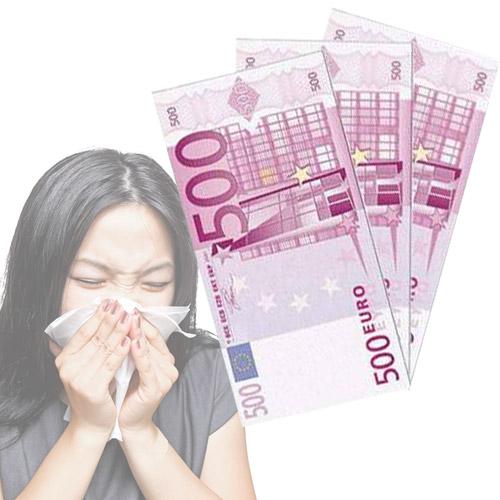 Pañuelos de Papel 500 Euros H0500162