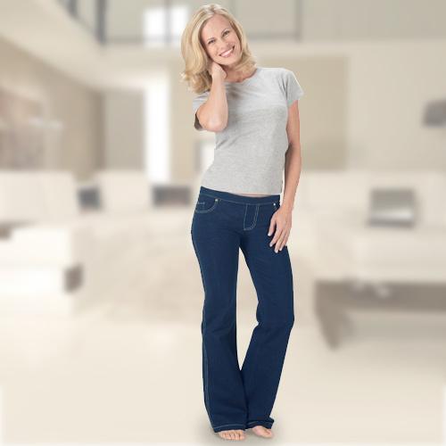 Pantalon Confort Jeans XL F1510222