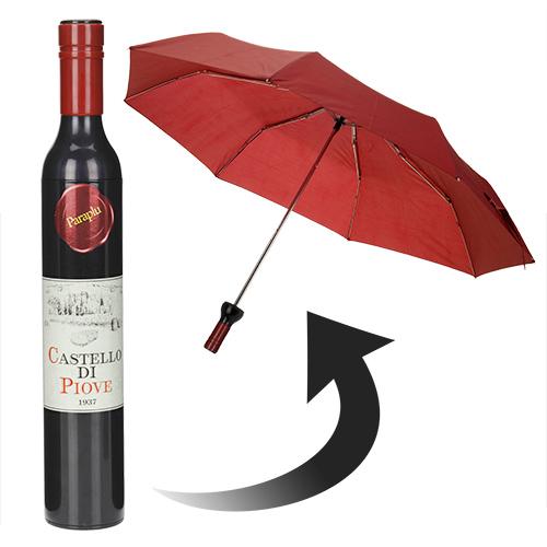 Paraguas Botella de Vino H0500253
