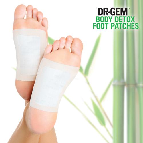 Parches Desintoxicantes para Pies Dr Gem F1520272