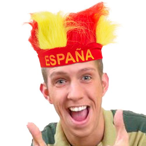 Peluca Bandera de España H2500133