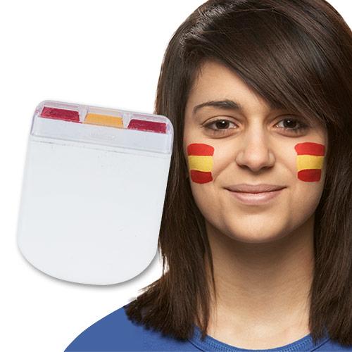 Pintura de Cara Bandera de España H2500139