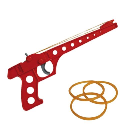 Pistola con Goma Elastica Gris H4530176