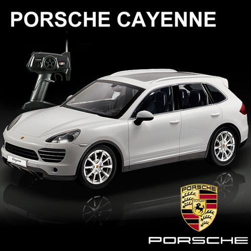 Coche Teledirigido Porsche Cayenne Blanco H4501005