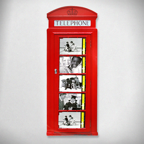 Portafotos Cabina Telefonica Britanica D4005206