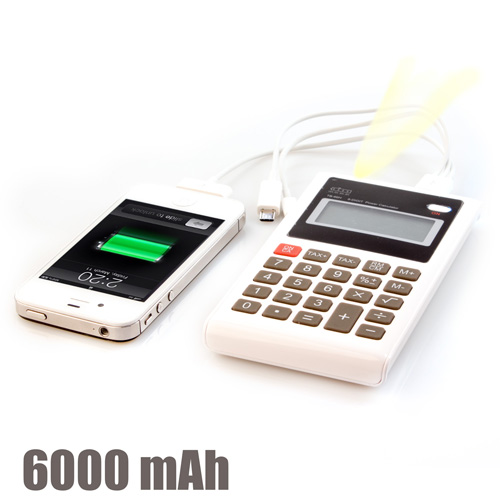 Calculadora Power Bank 6000 mAh H3505123