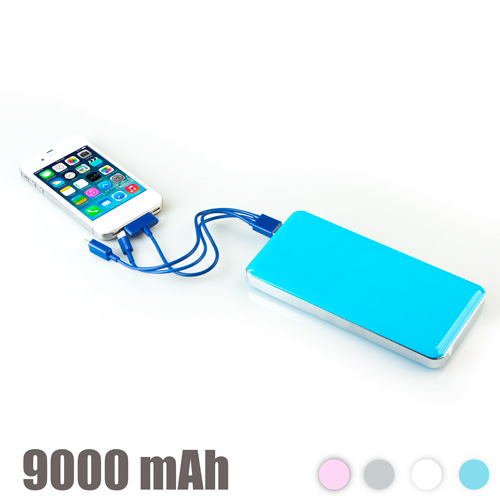 Power Bank Alta Capacidad 9000 mAh Rosa I4115036