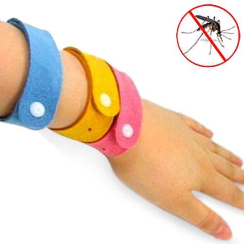 Pulsera Antimosquitos BUGS STOP Rojo D0500123