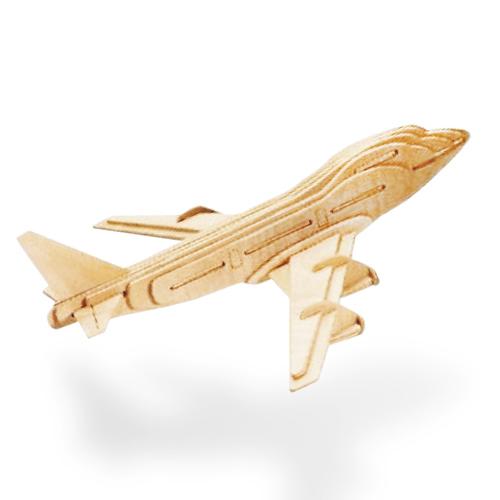 Lesena Sestavljanka Letalo