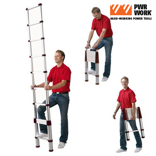 Escalera Telescopica Extensible XXL Ladder D1510129