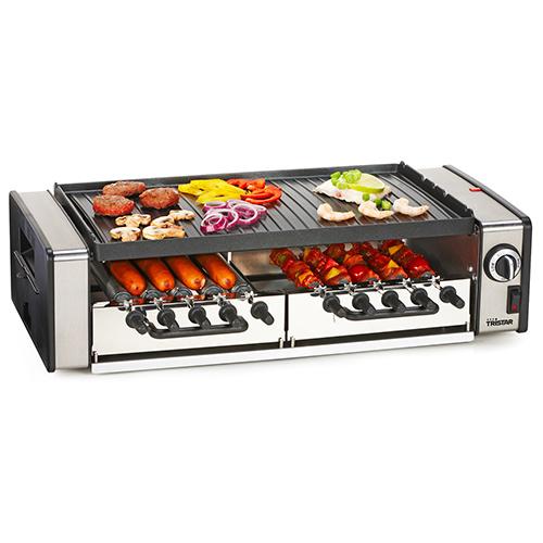 Multifunkcionális Grillsütő Rotációs Rendszerrel | Tristar RA2993 1600W