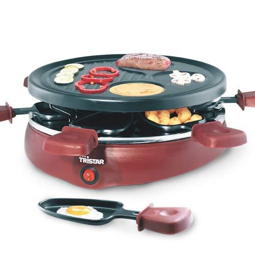 Raclette Gourmet Tristar RA2991 con 6 Sartenes B1530126