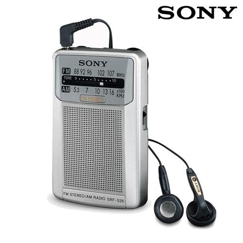 Radio Portatil de Bolsillo Sony SRFS26 I3510142
