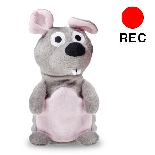 Raton de Peluche Grabador y Reproductor de Voz H4530220