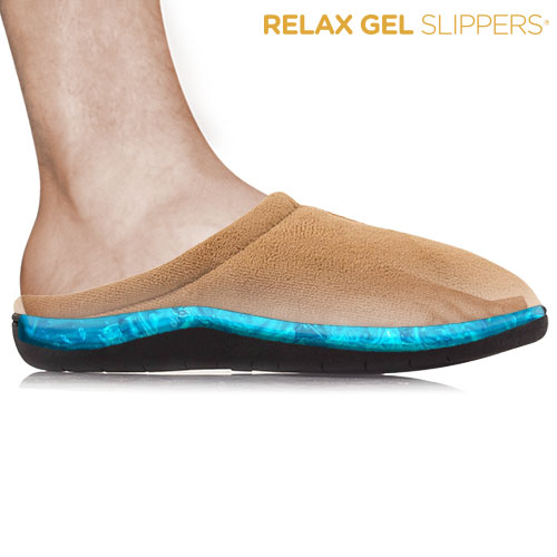 Zapatillas Relax Gel Slippers Negro S F1520225