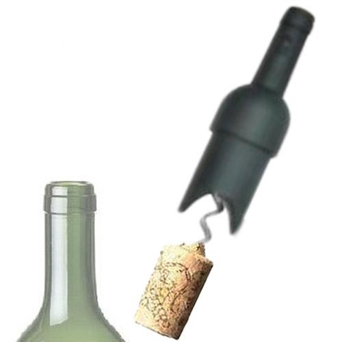 Sacacorchos Botella Negro B0520120