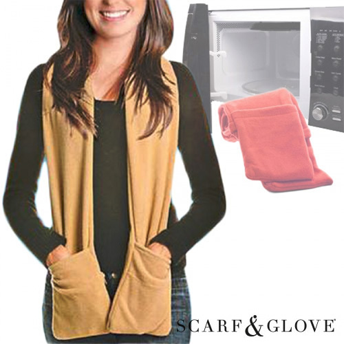 Écharpe pour Micro Ondes Scarf & Glove