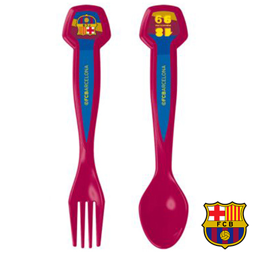Set de 2 Cubiertos FC Barcelona H4502023