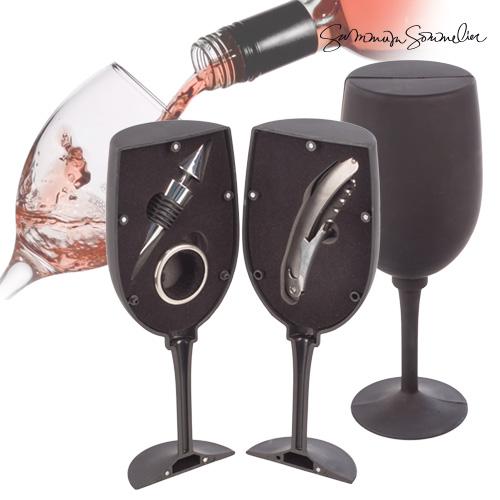 Set de Vino Copa Summum Sommelier (3 piezas) B0520147