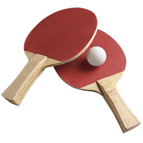 Table Tennis Set 2<br>Bats + 3 Balls