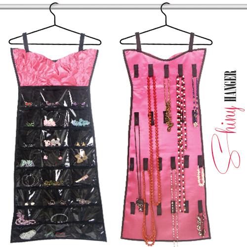 Vestido Organizador de Joyas Shiny Hanger D4010148