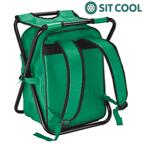 3 in 1 Sit Cool  <br> Folding Chair,<br>Thermal Bag and R
