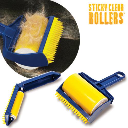 Rodillo Quita Pelusa Sticky Clean Rollers  +  Rodillo Viaje D4500114