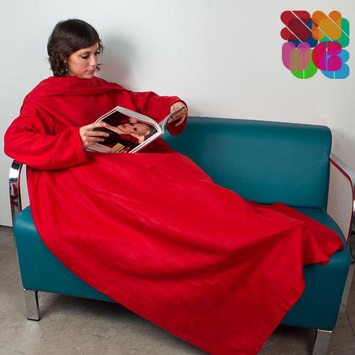 Batamanta Adultos Snug Snug Kangoo Extra Suave Rojo