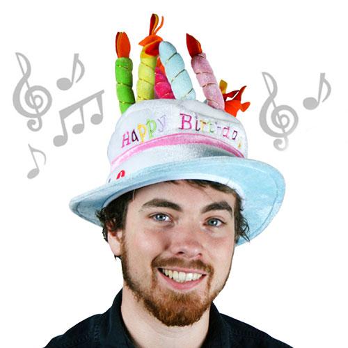 Gorro de Cumpleaños Musical H2500179