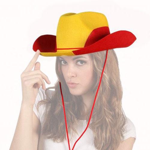Sombrero Cowboy Bandera de España H2500167