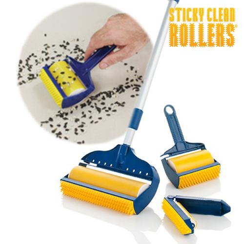 Sticky Clean<br> Rollers<br> Fusselrollen (3 ...