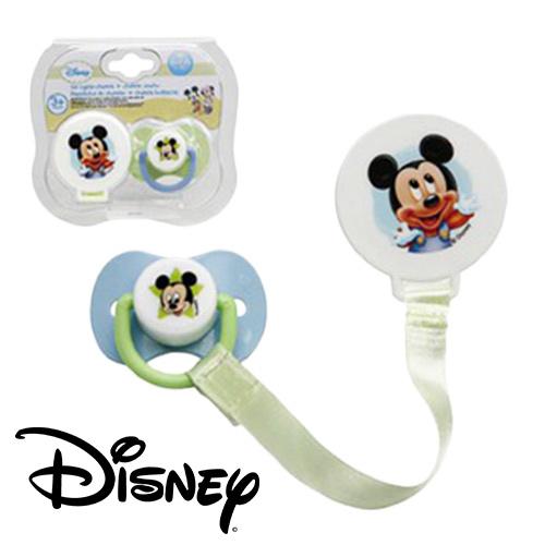Set Chupete  +  Sujeta Chupete Mickey Disney H4502002