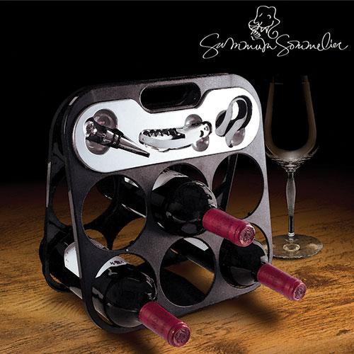 Botellero con Accesorios Vino Summum Sommelier B0520140