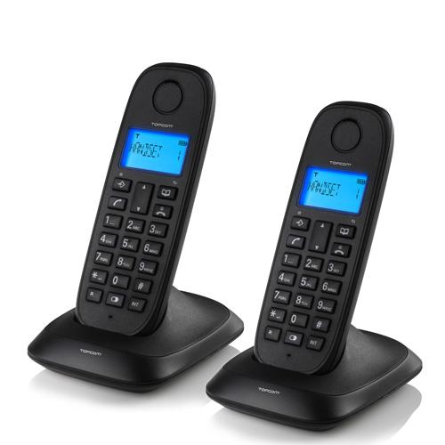 Brezžični Stacionarni Telefon TopCom TE5732 (v paketu 2)